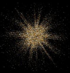 Confetti explosion vector