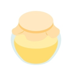 Honey bank isometric 3d icon vector