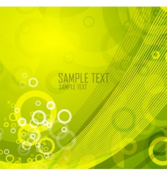 modern natural background vector image vector image