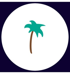 Palm computer symbol vector image vector image