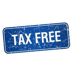 Tax free vector