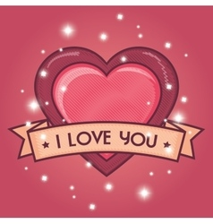 Valentines day romantic vector