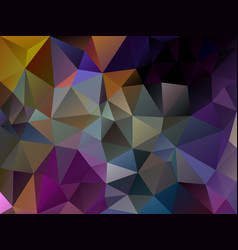 dark irregular polygon background multi vector image vector image