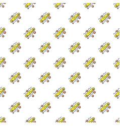 Long oval virus pattern seamless vector