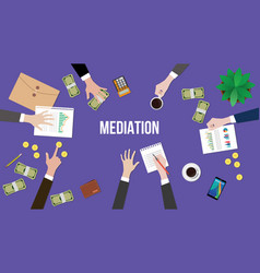 Mediation concept discussion with vector