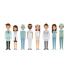 Medical professional people vector