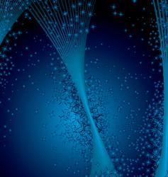 Stella star burst p vector image vector image