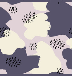 Abstract seamless pattern for design vector