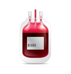 Donate blood isolated vector