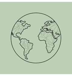 World planet design vector
