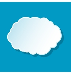 Cloud icon best vector image vector image