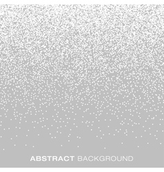 Jewelry silver gradient halftone dots background vector