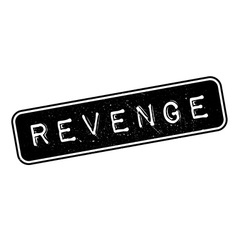 Revenge rubber stamp vector