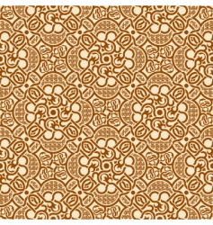 seamless ornament vector image vector image