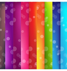 Colorful Background With Bokeh vector image
