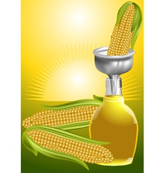Corn syrup vector