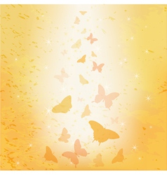 Abstract butterfly background vector image vector image