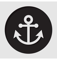 Information icon - anchor vector