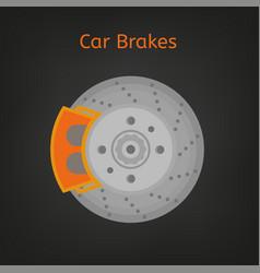 car brakes image vector image