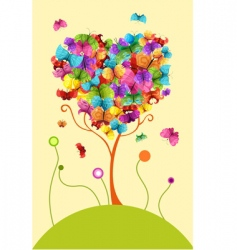 design tree vector image vector image