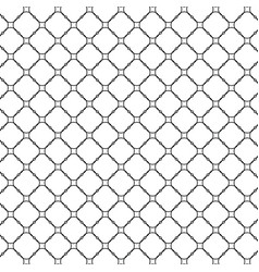 Lattice pattern with trendy lattice on a white vector
