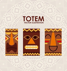 totem design vector image