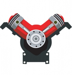 Engine head vector