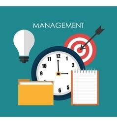Business management design vector