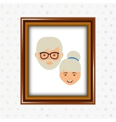 Parent picture design vector