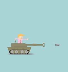Business artillery fire bullet bonus vector