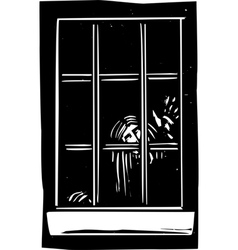 Ghost Window vector image