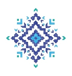 Hand drawn tribal design element vector
