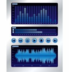 sound mixer vector image vector image
