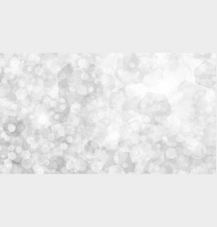 white abstract background of small hexagons vector image vector image