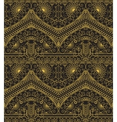 Vintage arabic pattern vector