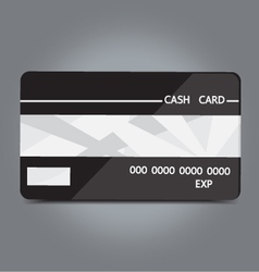 Cash card vector