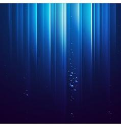 blue ocean vector image vector image