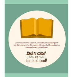 Education with book vector