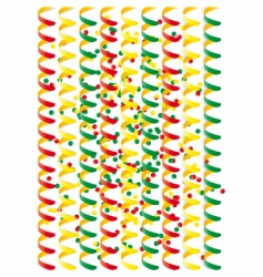 Carnival streamers vector