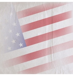 old vintage paper texture with the united states vector image