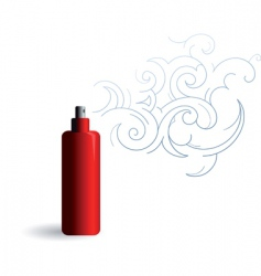 Mist spray vector