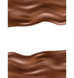 Wavy chocolate background eps 10 vector
