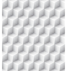 White geometric texture seamless background vector