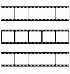 photo film strip vector image