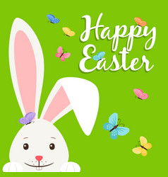 Happy easter elements for banner vector