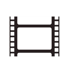 Film strip cinema movie design vector