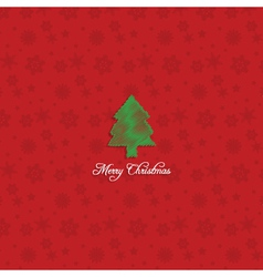 christmas tree background 1110 vector image