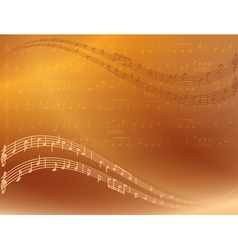 Abstract bright music background vector