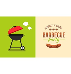 barbecue concept vector image