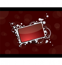 business card border vector image vector image